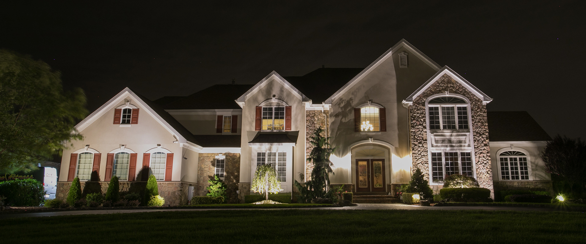nightfall lighting custom outdoor lighting design philadelphia pa